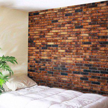 Brick Wall Print Tapestry Wall Hangings Art Decor