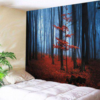 Wall Hanging Art Maple Forest Print Tapestry