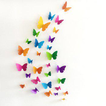 3D Butterfly DIY Wall Sticker Set Home Decoration