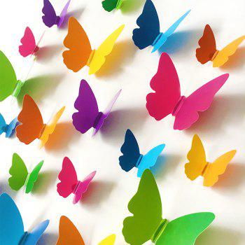 3D Butterfly DIY Wall Sticker Set Home Decoration -  COLORMIX