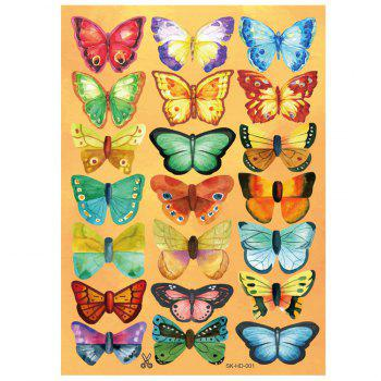 Home Decor 3D Butterfly DIY Wall Stickers Set - PATTERN A PATTERN A