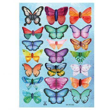 Home Decor 3D Butterfly DIY Wall Stickers Set - COLORMIX COLORMIX