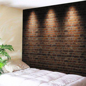 Wall Hanging Art Light Brick Wall Print Tapestry