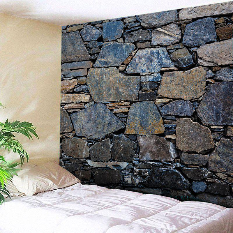 Wall Hanging Art Stone Wall Print Tapestry two tone stripe print tapestry wall hanging art