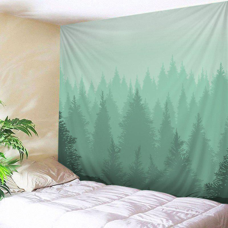 Wall Hanging Art Fog Forest Print Tapestry wall hanging art fog forest print tapestry