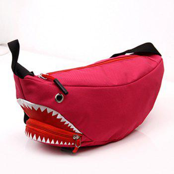 Convertible Funny Shark Cross Body Bag