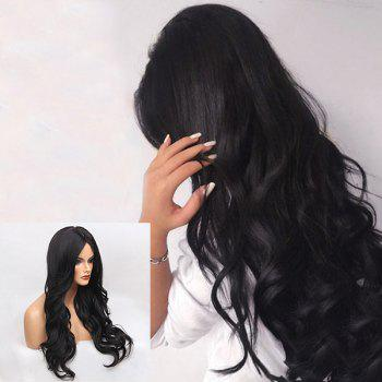 Middle Parting Long Wavy Synthetic Wig