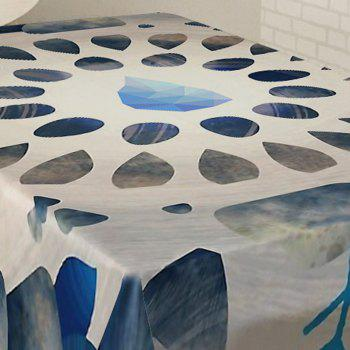 Printed Waterproof Fabric Dining Table Cloth - W54 INCH * L54 INCH W54 INCH * L54 INCH
