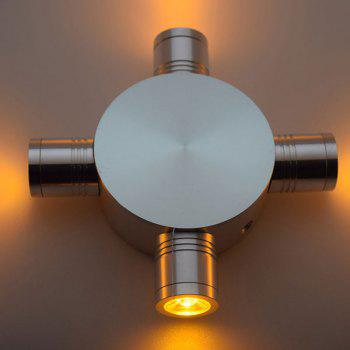 Modern LED Indoor Outdoor  Fixture Wall Light -  YELLOW