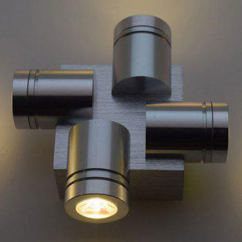 Home Decor Aluminum LED Modern Wall Light -  WARM WHITE LIGHT