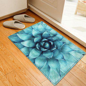 Succulent Plant Pattern Indoor Outdoor Area Rug