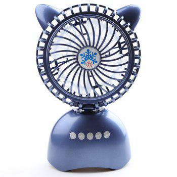 Mini Portable Wireless Bluetooth Speaker USB Desk Fan