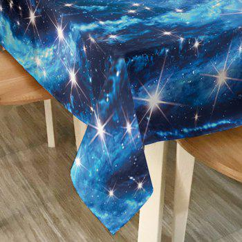 Starry Sky Print Waterproof Table Cloth - W54 INCH * L72 INCH W54 INCH * L72 INCH