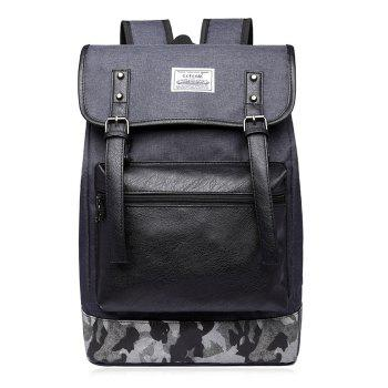Buckle Straps Camo Insert Backpack
