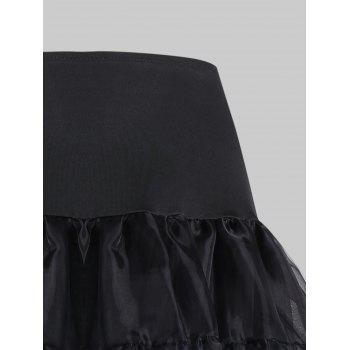 Grand style Light Up Cosplay Party Skirt - Noir 3XL