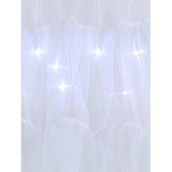 Grand style Light Up Cosplay Party Skirt - Gris Clair 5XL