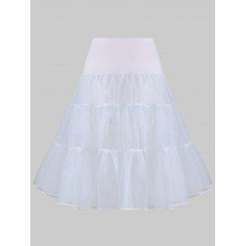 Grand style Light Up Cosplay Party Skirt - Gris Clair 2XL