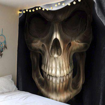Horror Skull Print Wall Tapestry