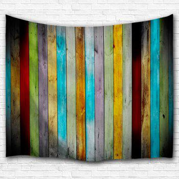 Colorful Woodgrain Wall Hanging Fabric Tapestry - COLORMIX COLORMIX