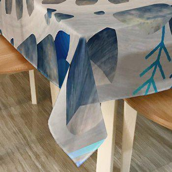 Printed Waterproof Fabric Dining Table Cloth - COLORMIX COLORMIX