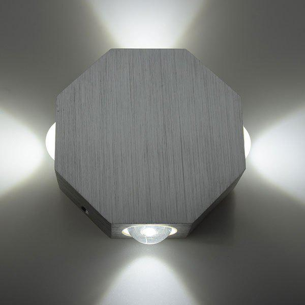 Energy Saving Aluminum Modern LED Wall Light - WHITE LIGHT