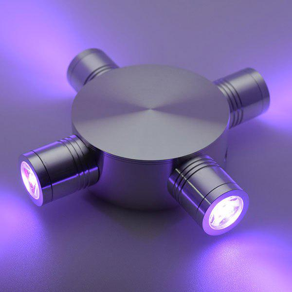 Modern LED Indoor Outdoor  Fixture Wall Light - PURPLE