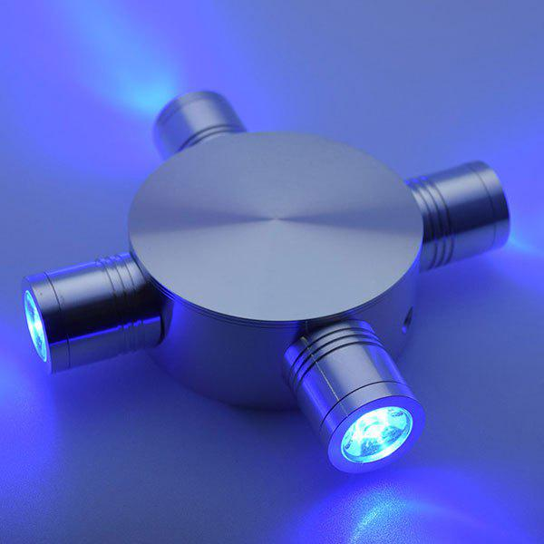 Modern LED Indoor Outdoor  Fixture Wall Light - BLUE