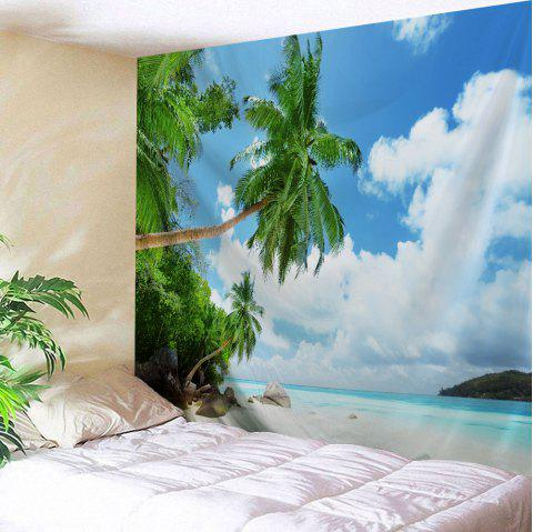 Beach Scenic Wall Hanging Tapestry Bedroom Decor - COLORMIX W59 INCH * L79 INCH
