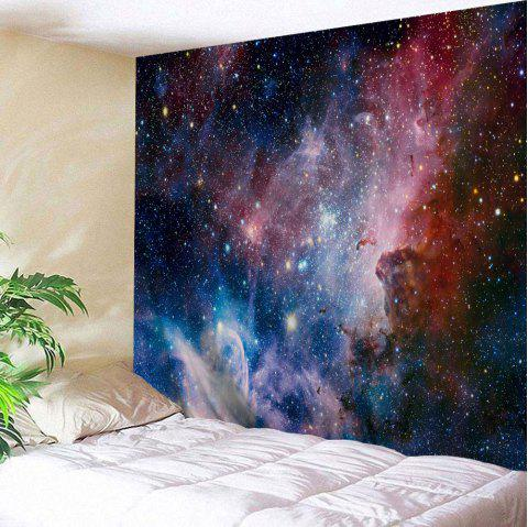 Wall Art Hanging Galaxy Print Tapestry - COLORMIX W51 INCH * L59 INCH