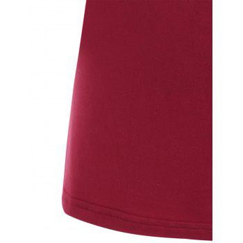 Y-strap Casual Tank Top - Rouge L