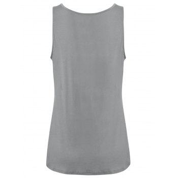 Y-strap Casual Tank Top - 2XL 2XL