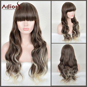 Adiors Full Bang Colormix Long Wavy Synthetic Wig