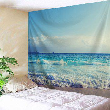 Sea Wave Wall Hanging Fabric Tapestry