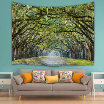 Alameda Wall Hanging Bedroom Decor Tapestry - GREEN W51 INCH * L59 INCH