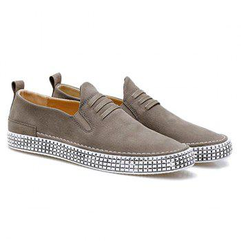 Elastic Band Laces Slip On Casual Shoes