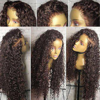 Free Part Shaggy Long Curly Lace Front Synthetic Wig