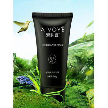 Pore Cleaner Removal Blackhead Bamboo Charcoal Mask -  BLACK