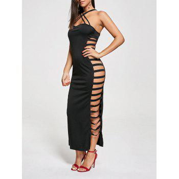 Sexy Cut Out Criss Cross Club Dress