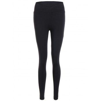 High Waisted Fitted Sport Pants