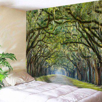 Alameda Wall Hanging Bedroom Decor Tapestry - GREEN W71 INCH * L91 INCH