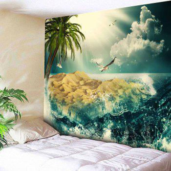 Landscape Wall Hanging Microfiber Tapestry