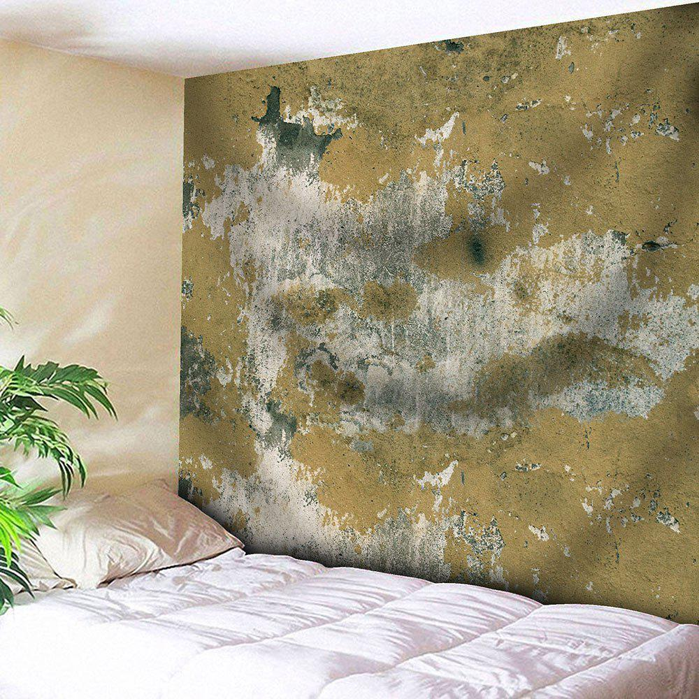 Mottled Wall Printed Tapestry Microfiber Wall Hanging - GINGER W79 INCH * L59 INCH