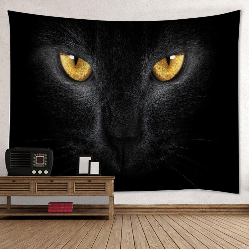 Wall Hanging Art Decor Cat Print Tapestry источник света для авто conbays 2 881 7 5w led smd led exteral