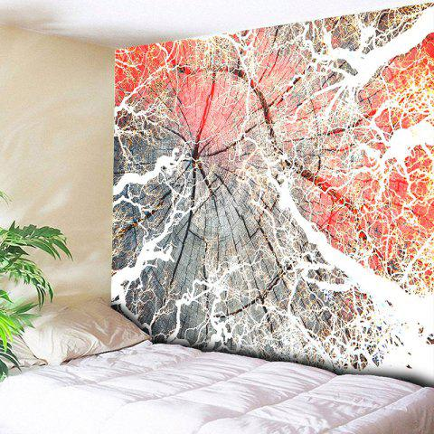 Printed Wall Hanging Wood Tapestry - WOOD W59 INCH * L59 INCH