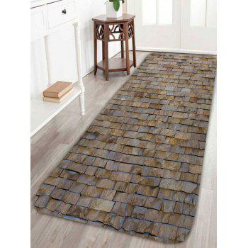 Brick Wall Design Indoor Non Slip Floor Rug