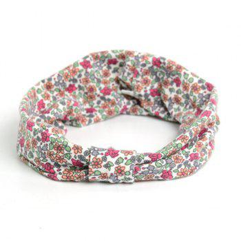 Retro Tiny Floral Pattern Snood - RED RED