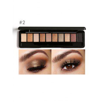 Earth Color Smoky Eyeshadow Palette - #02