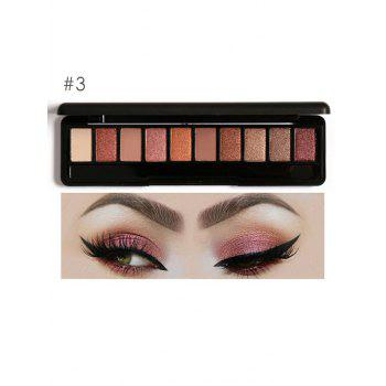 Earth Color Smoky Eyeshadow Palette - #03