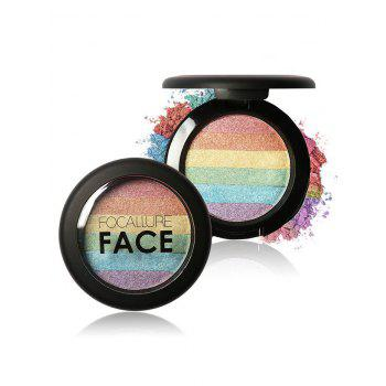 Beauty Makeup Rainbow Highlighter Powder - #01