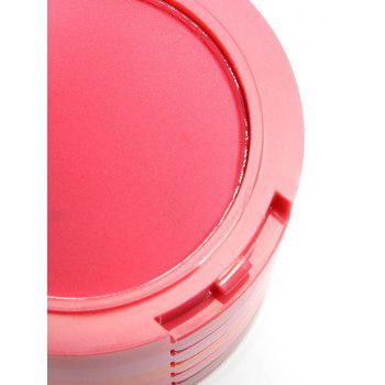 5 Color Layered Cosmetics Makeup Blusher With Brush - multicolorcolore